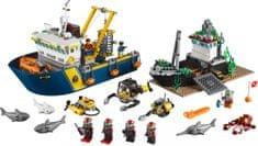 LEGO® City 60095 Globokomorsko raziskovalno plovilo