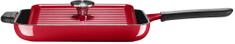 KitchenAid žar ponev, 25 x 25 cm, rdeča