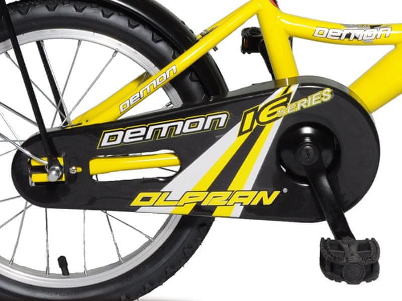 """Olpran Demon 16"""" žlutá - zánovní"""