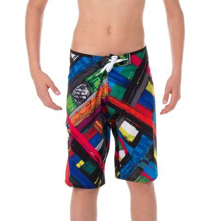 Freegun kopalne hlače SW15/3/FG/FLP/WAV, otroške, rdeče/modre, 10 - 12 let