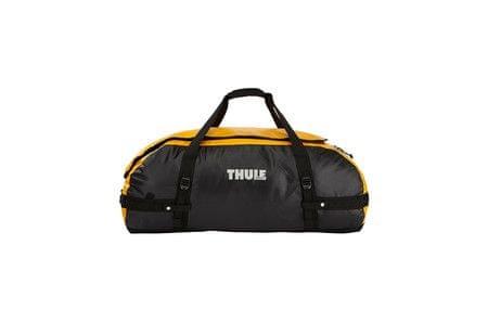 Thule športna torba Chasm XL, 130 l, črno/rumena