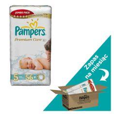 Pampers Premium Care Pieluchy  rozmiar 5 Junior 112szt zapas na miesiąc