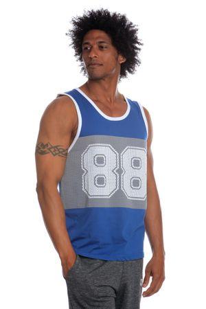 Brave Soul mladistvé pánské tílko Mistral  XL modrá