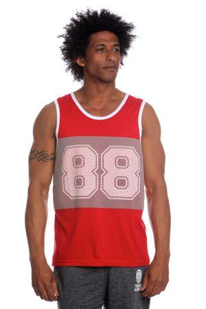 Brave Soul mladistvé pánské tílko Mistral XL červená