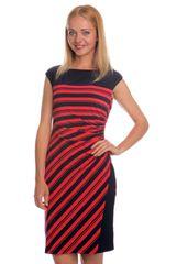 Chaps dámské elastické šaty s proužky