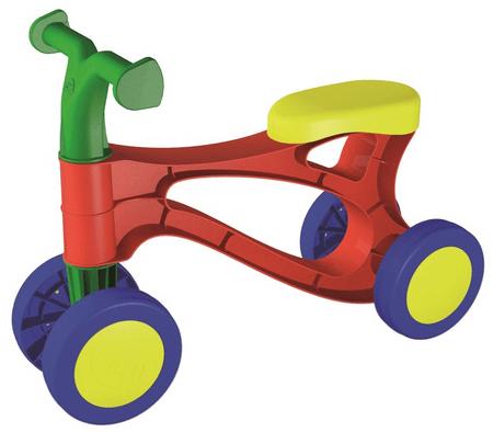 LENA Lábbal hajtós kismotor, Többszínű