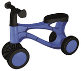 LENA Rolocykel modrý, nový