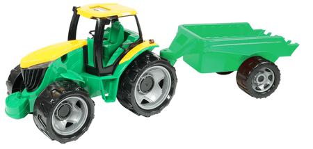 LENA Traktor s prívesom, 94 cm