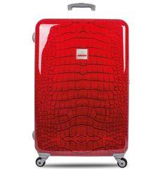 SuitSuit Cestovný kufor TR-1210/3-70 - Red Crocodile