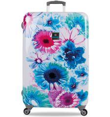 SuitSuit Cestovný kufor TR-1216/3-70 - Bright Botanica