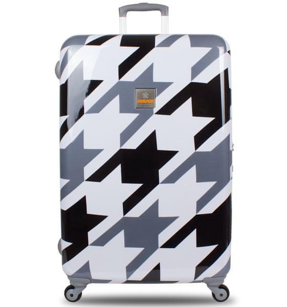 SuitSuit Cestovní kufr TR-1217/3-70 - Houndstooth