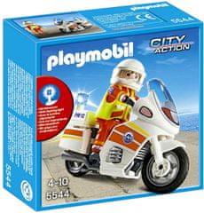 Playmobil 5544 Motoros mentőorvos
