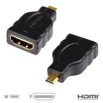Vigan Redukce HDMI A - HDMI micro D, M/F