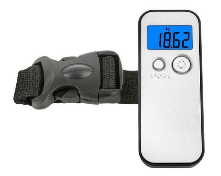 TFA Zavazadlová váha, stříbrná