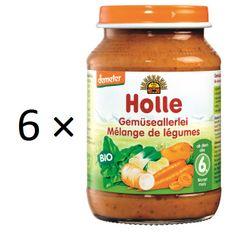 Holle Bio Zeleninová zmes - 6 x 190g