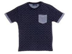 Brave Soul chlapecké tričko Tesla s puntíky