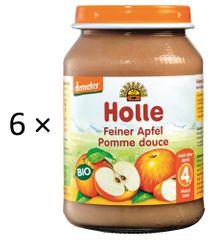 Holle Bio Jemné jablko - 6 x 190g