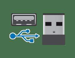 Szybkie złącze komunikacji przewodowej USB