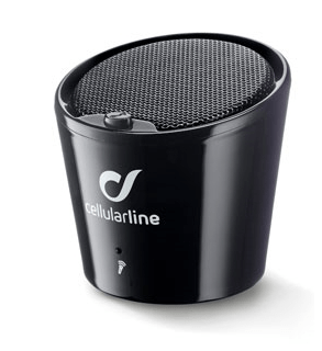 CellularLine Bluetooth zvočnik Apscrabble, črn