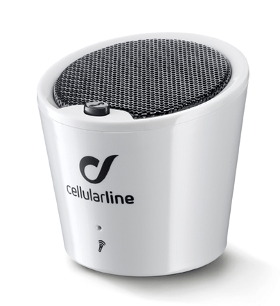 CellularLine Bluetooth zvočnik Apscrabble, bel