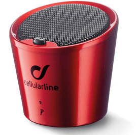CellularLine Bluetooth zvočnik Apscrabble, rdeč
