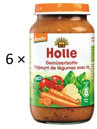 Holle Bio Zeleninové rizoto - 6 x 220g