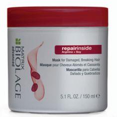 Matrix Hloubkově vyživující maska pro poškozené vlasy Biolage Repairinside (Mask)