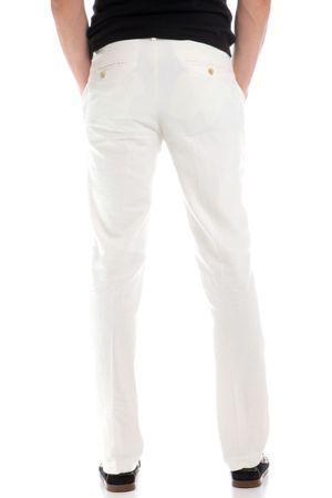 Chaps jednobarevné pánské kalhoty 31 34 bílá  27ae4f0652