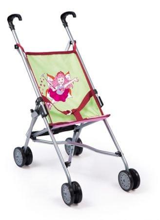 Bayer Design voziček za punčke Buggy, roza-zelen