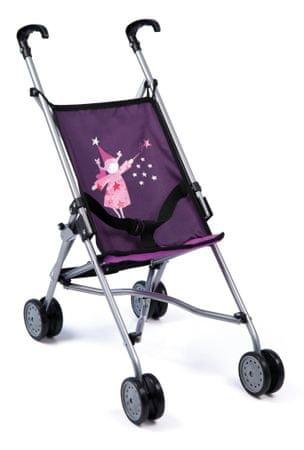 Bayer Design voziček za punčke Buggy, temno vijoličen