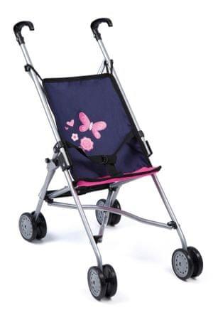 Bayer Design voziček za punčke Buggy, roza-moder