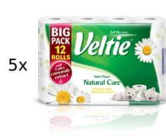 Veltie toaletni papir Natural Care s kamilico, 3-slojni