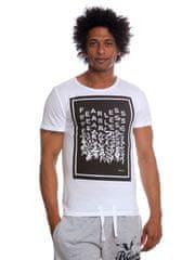 s.Oliver pánské tričko s rozplývajícím se nápisem