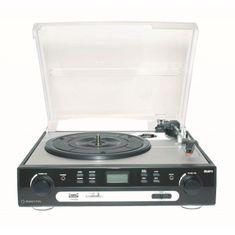 Manta Vinyl USB Cassette Player MA408
