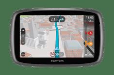 TomTom GO 51 World Traffic Lifetime, mapy celého světa