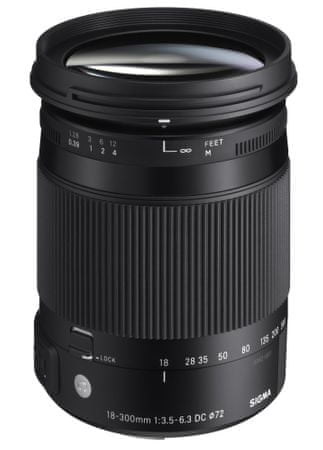 Sigma objektiv 18-300mm F3.5-6.3 DC MACRO OS HSM, za Nikon