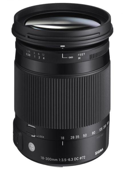 Sigma 18-300/3,5-6,3 DC MACRO OS HSM Contemporary pro Nikon