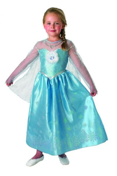 Rubie's Kostým Frozen Elsa Deluxe M