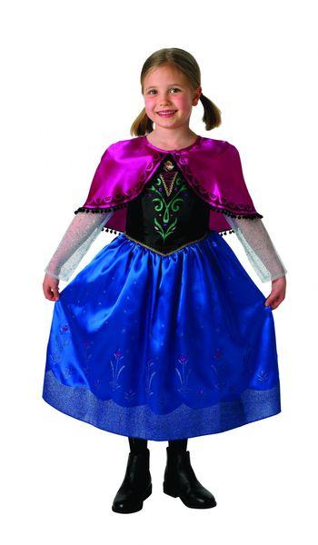 Rubie's Kostým Frozen Anna Deluxe L