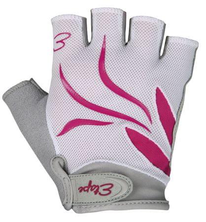 Etape rękawiczki rowerowe Annie White/Pink S