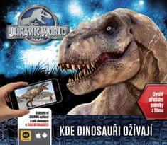 Rowlands Caroline: Jurský svět - Kde dinosauři ožívají (s rozšířenou realitou)
