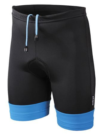 Etape spodenki rowerowe Junior Black/Blue 116/122