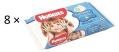 Huggies Vlhčené ubrousky Everyday Quatro Pack 8×56 ks
