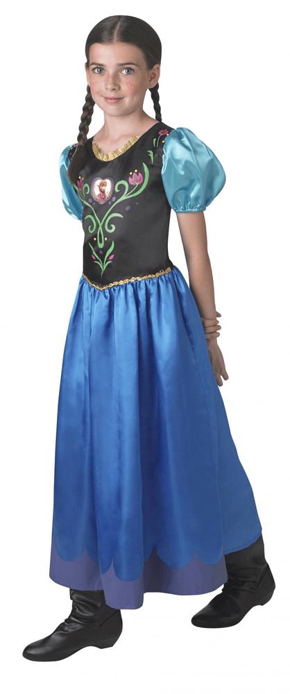 Rubie's Kostým Frozen Anna Classic 9 - 10 let