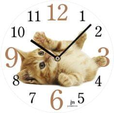 Lowell Designové nástenné hodiny 14843