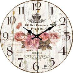 Lowell Designové nástěnné hodiny 14852