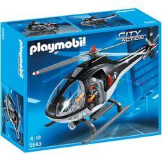 Playmobil 5563 Helikoptéra zásahovky