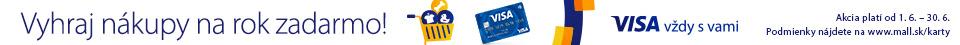 SK Júnové nákupy s Visa kartou
