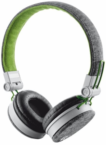 Trust Fyber Headphone - gray/green (20080)