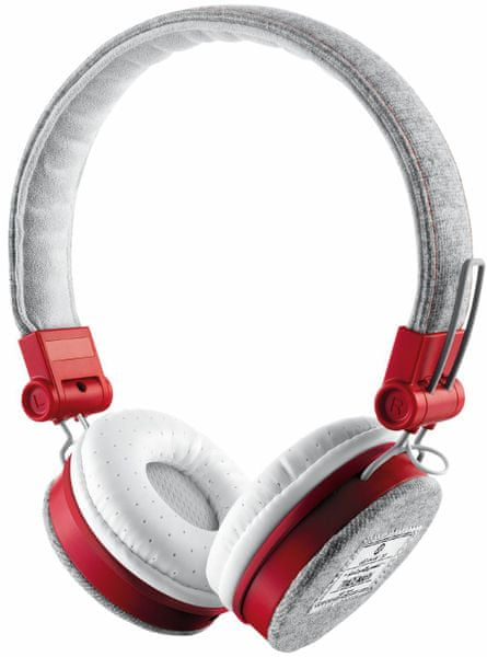 Trust Fyber Headphone - grey/red (20073) - II. jakost